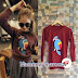 Sweater Naommy Maroon (Baju / Sweater Rajut)