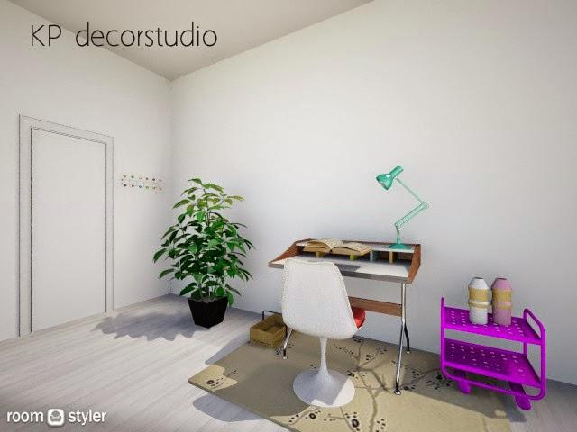 Despacho decoracion moderna de diseño decoradores valencia