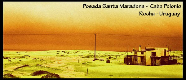 Posada Santa Maradona - Cabo Polonio