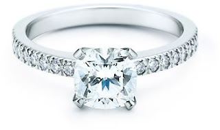 Tiffany Novo Engagement Wedding Rings