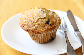 Giant Blueberry Muffin