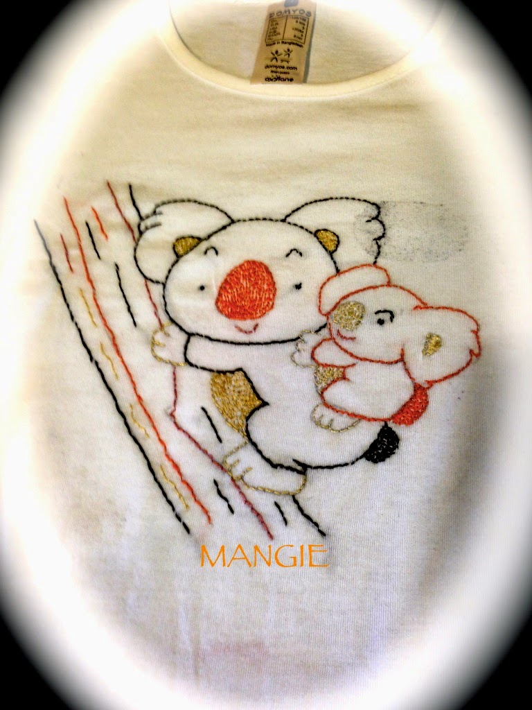 Camiseta Cosida a mano