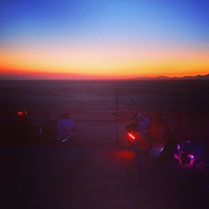 Tycho Barrel~dEM Black Sunrise - Sunrise DJ Set at Burning Man 2014