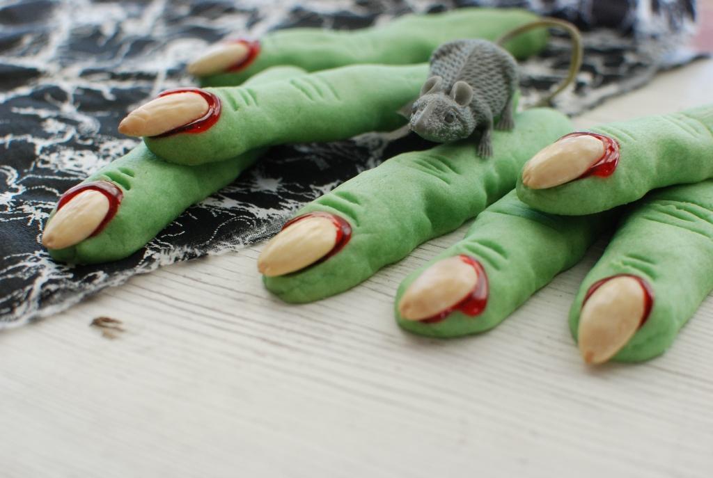 Печенье пальцы на хэллоуин рецепты с фото