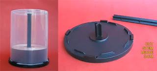 materiales del experimento de levitacion