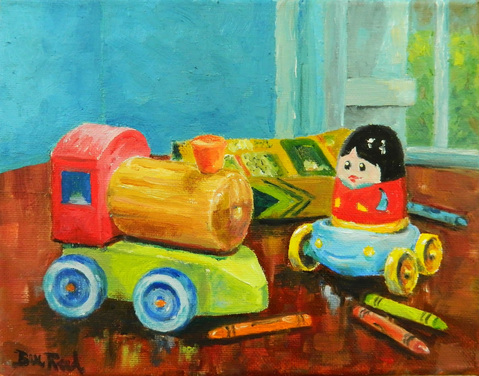Toys For Painting : Toonsville