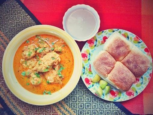Traditional Konkani chicken curry