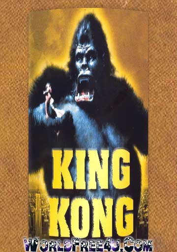 Poster Of King Kong (1976) In Hindi English Dual Audio 300MB Compressed Small Size Pc Movie Free Download Only At worldfree4u.com
