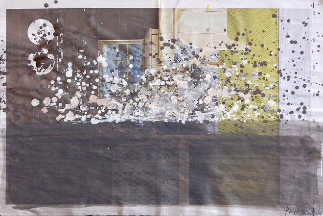 134. UNTITLED. Framed. 52x72cm SOLD