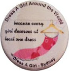 Proud Supporter of Dress a Girl Australia