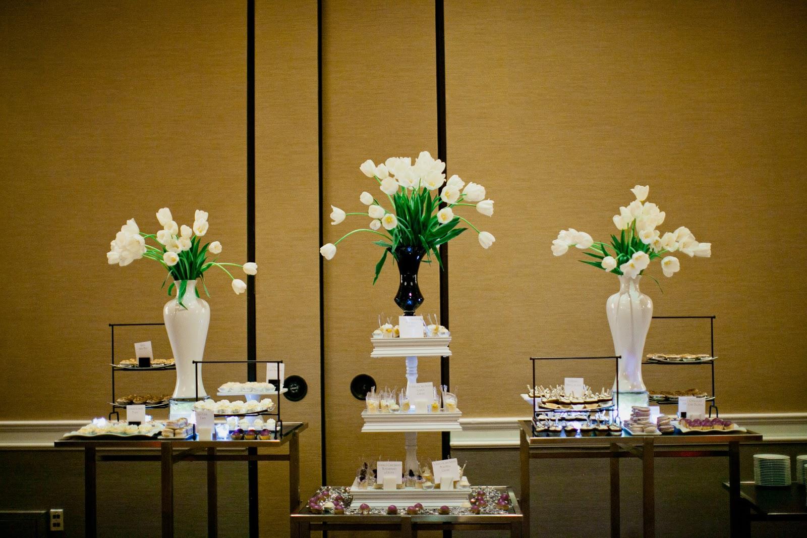 Angel Cakes Bakery: Modern Mini Dessert Table + The Fairmont ...