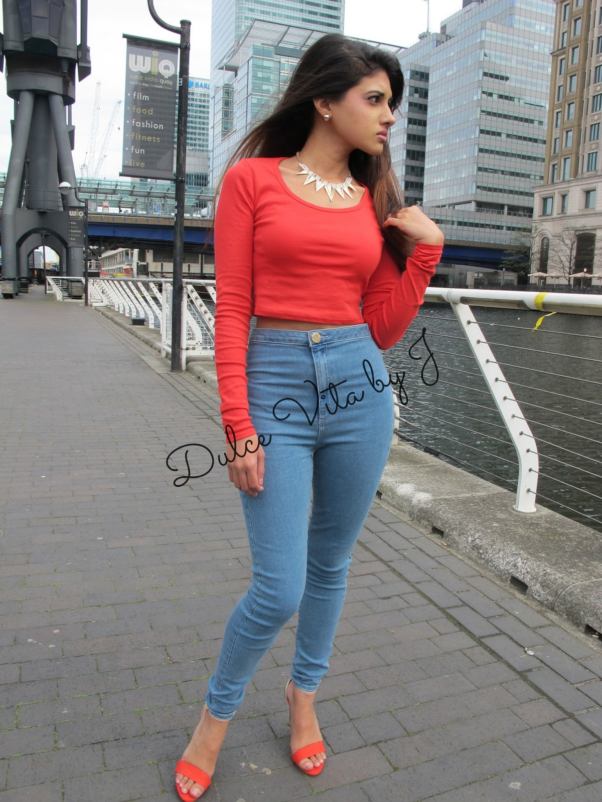 High Waisted Jeans And Crop Top Tumblr The gallery for -->...