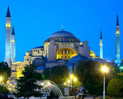 hagia-sophia, Istanbul Turkey tourism