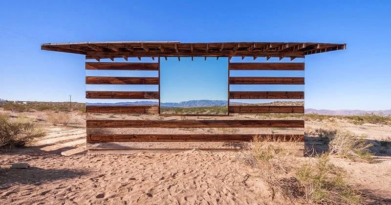 Lucid Stead, l'illusione ottica del deserto