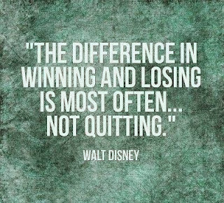 not quitting - walt disney