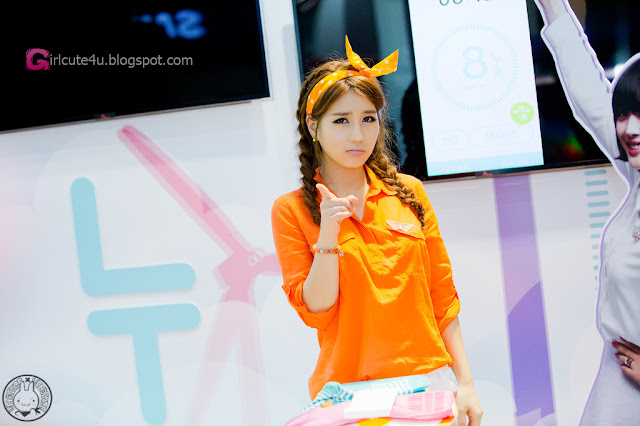 5 Park Si Hyun - World IT Show 2013 - very cute asian girl - girlcute4u.blogspot.com