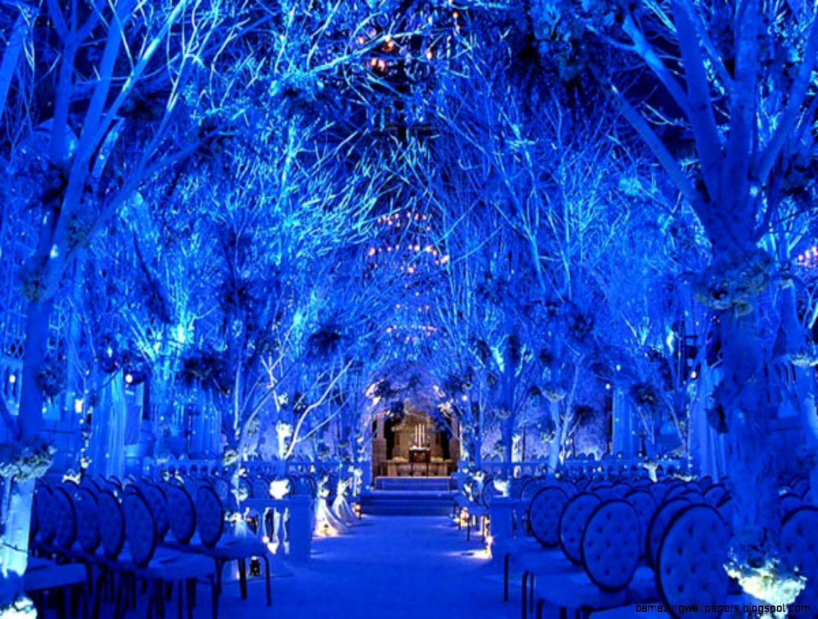 Outdoor christmas decoration pictures winter wonderland wedding