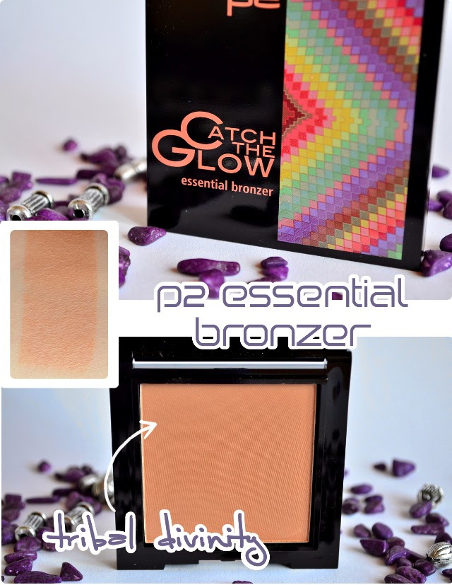 Review p2 Catch The Glow essential Bronzer TRIBAL DIVINITY