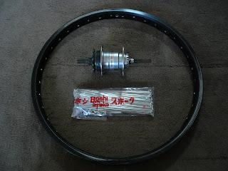 赤い自転車: BMXの改造(内装3段 ...