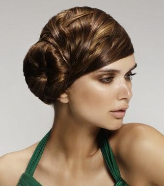 Modela tu Cabello Elegantes Peinados Recogidos de fiesta 2014