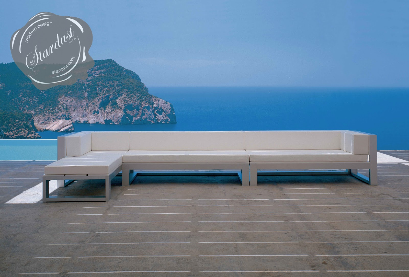 Outdoor modular sofa thesofa for Sofa modular exterior