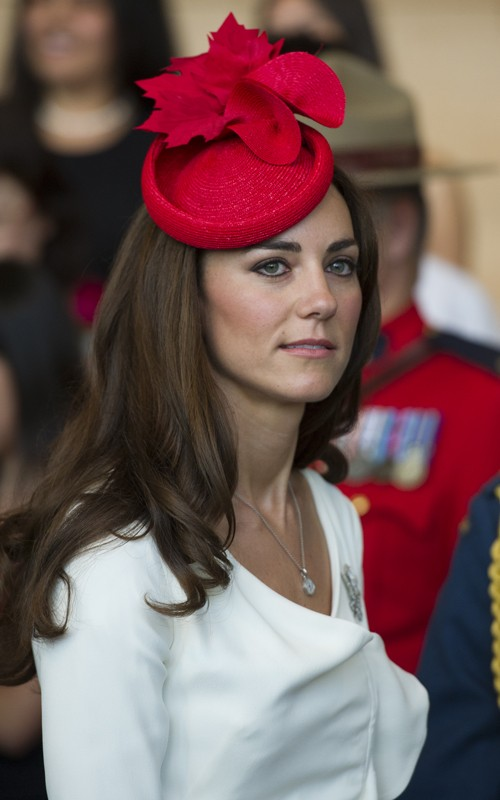 The headwear association kate middleton named hat person of the year