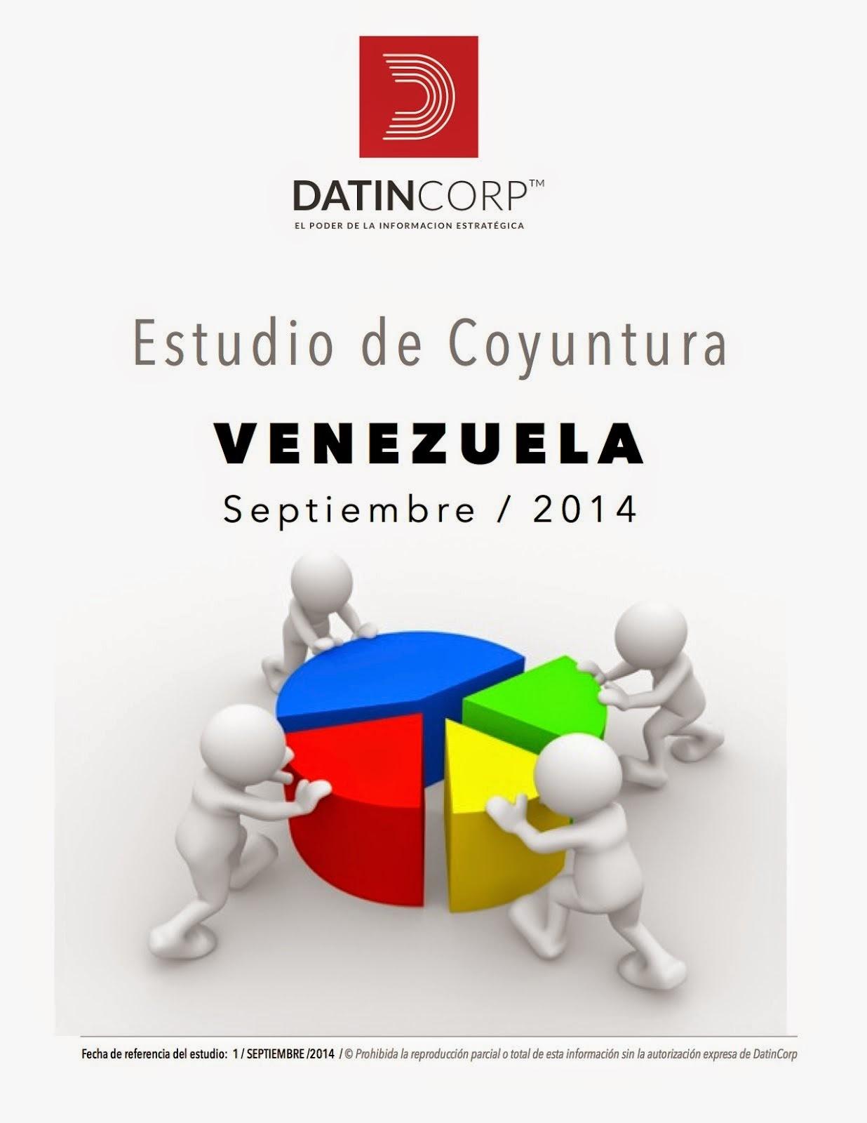 Estudio de Coyuntura ! ! VENEZUELA Septiembre / 2014