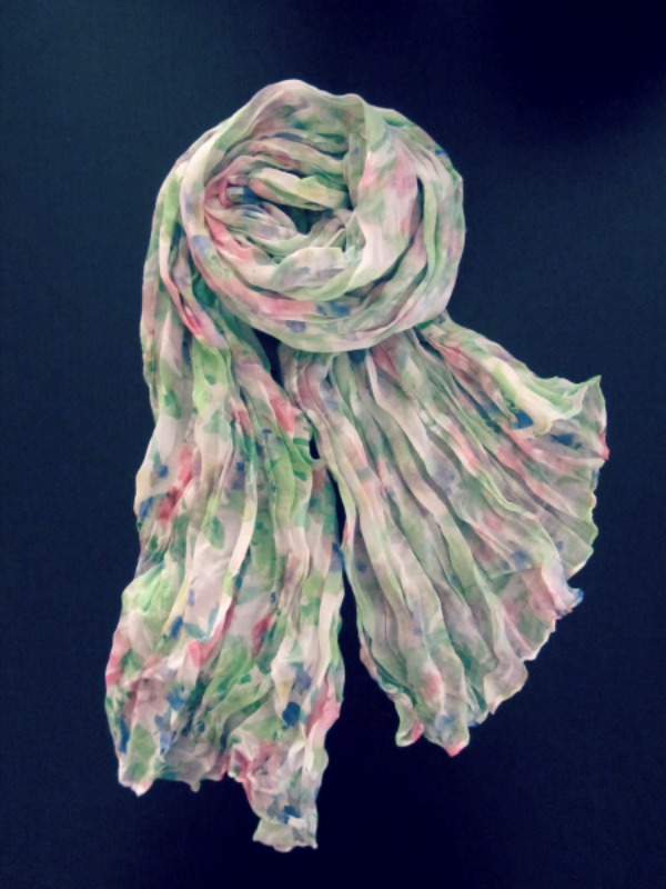 foulard Mint and pink_primsecret