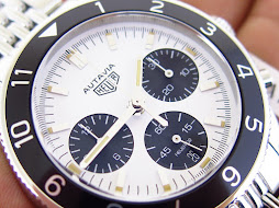 HEUER AUTAVIA HERITAGE WHITE PANDA DIAL - LIMITED EDITION 150 WATCHES WORLDWIDE - AUTOMATIC CAL.02