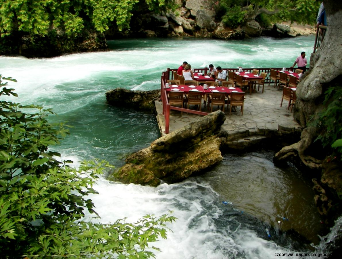 Manavgat waterfall travel photo   image gallery