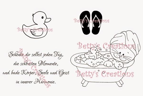 Wellness sprüche gutschein  Bettys-creations: Vorschau: Kathi im Schaumbad
