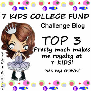7 Kids College Fund Challenge Top 3