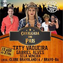 13/AGOSTO - CAVALGADA DOS PAIS - BRAVO - SERRA PRETA