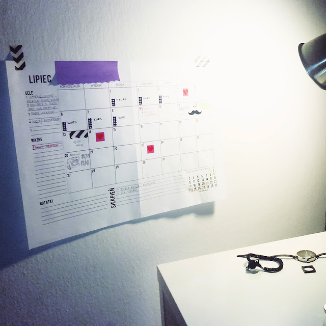 kreatywny planner do wydrukowania