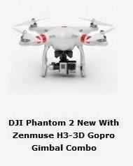 DJI Phantom 2 con Gimbal a 3 assi per GoPro Zenmuse H3-3D - Banggood Shop -