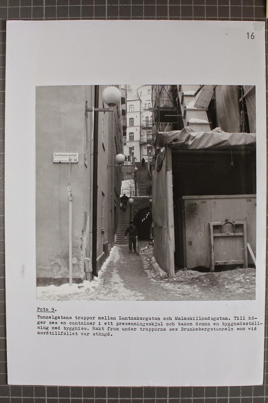 Brottsplatsfoton Palmemordet 10