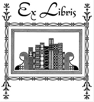 Declarative image inside free printable bookplates for adults