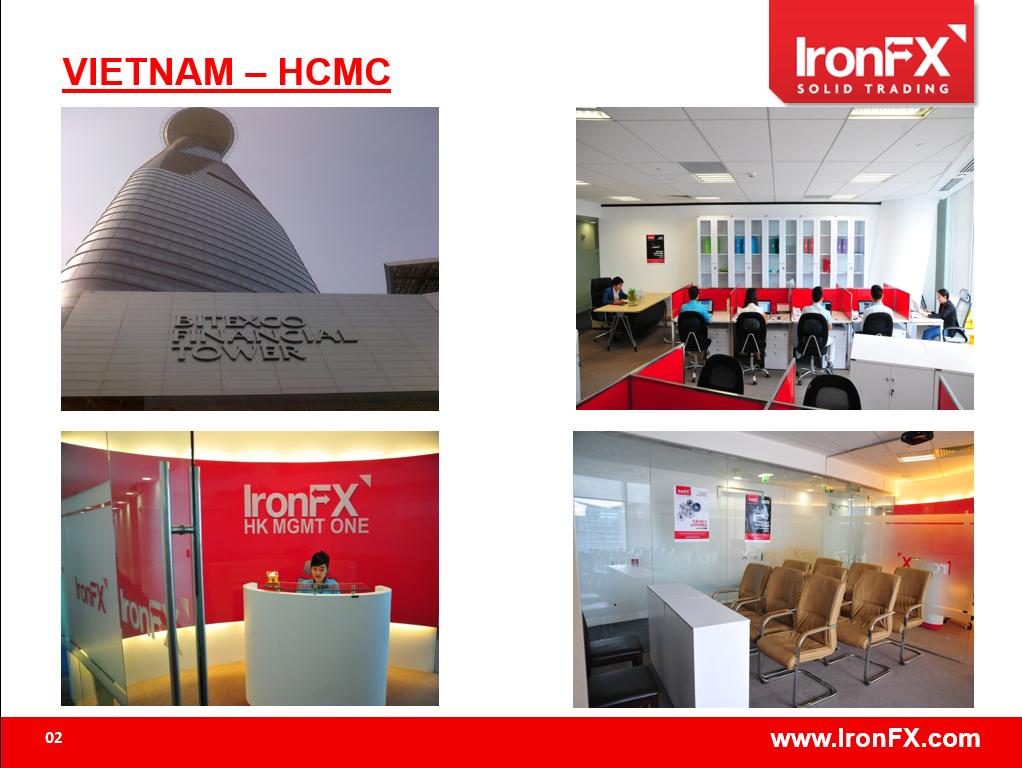 Văn phòng đại diện IronFX Việt Nam