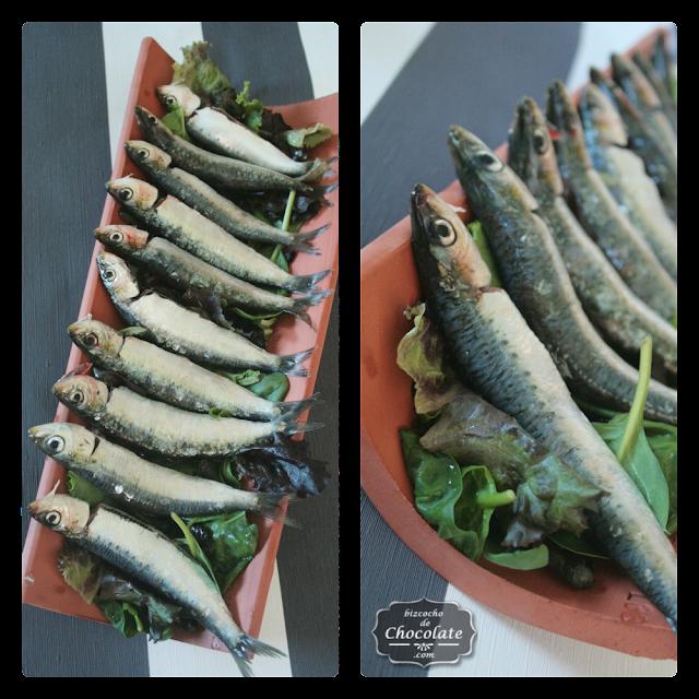sardinas en teja