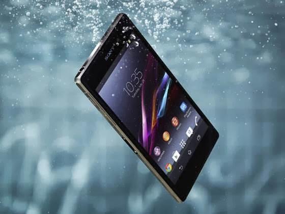 Sony Xperia Z1 é à prova d'água - 560x420