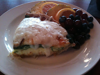 219 An American Bistro Dish: Canadian Bacon and Spinach Quiche