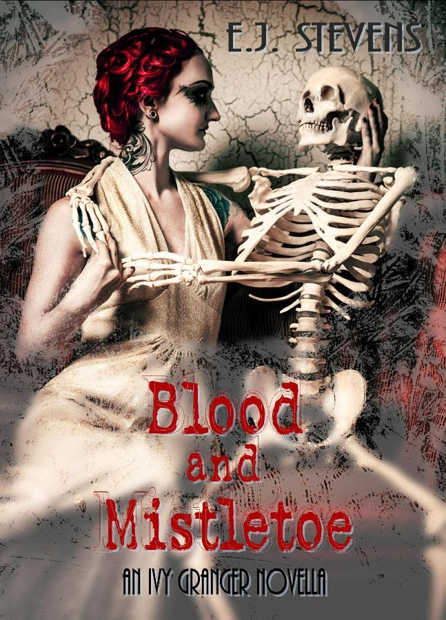 The Bite Before Christmas Giveaway: Win Blood and Mistletoe holiday Urban Fantasy by E.J. Stevens