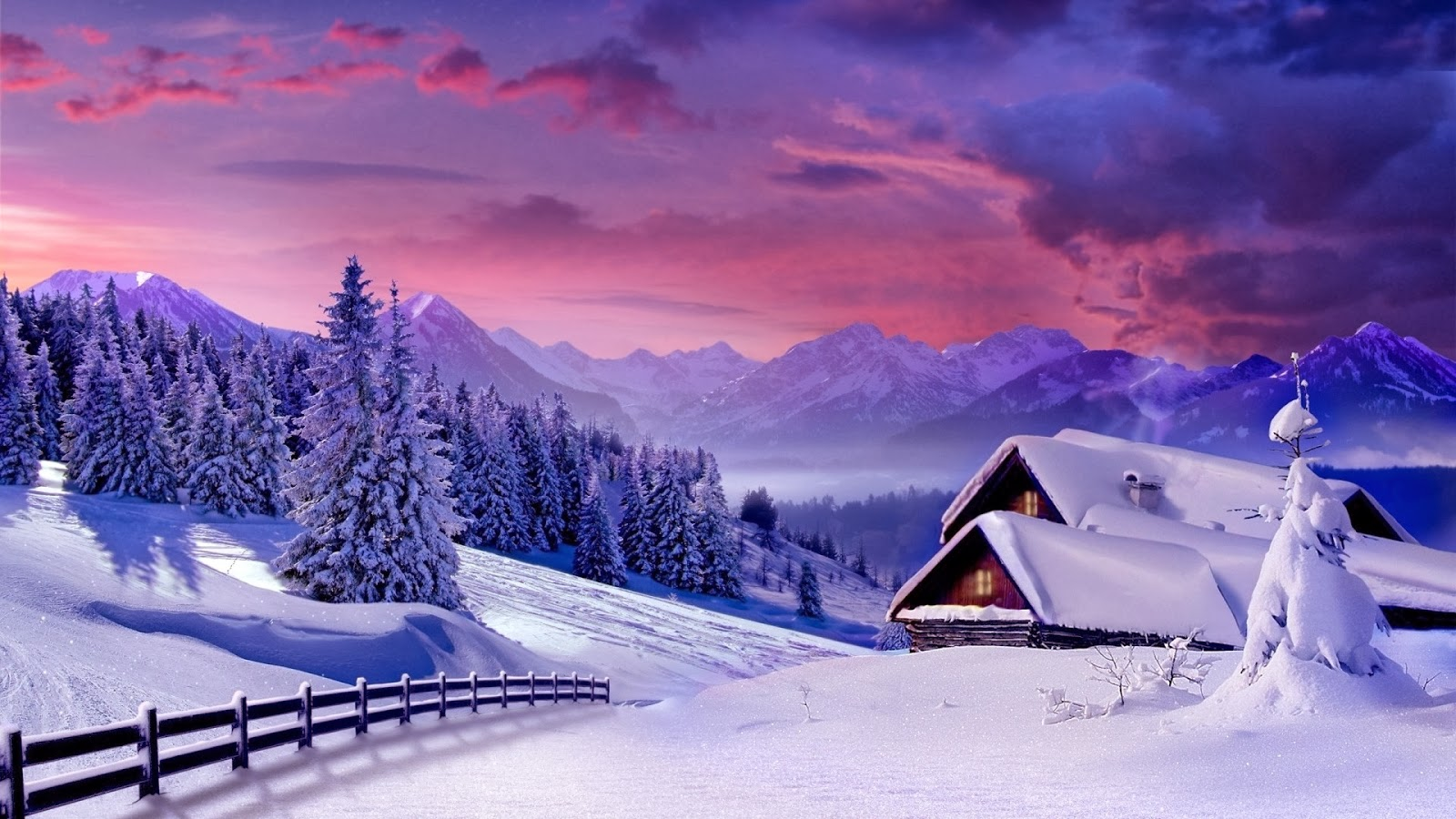 Beautiful Snow Wallpaper Desktop Backgrounds HD 2