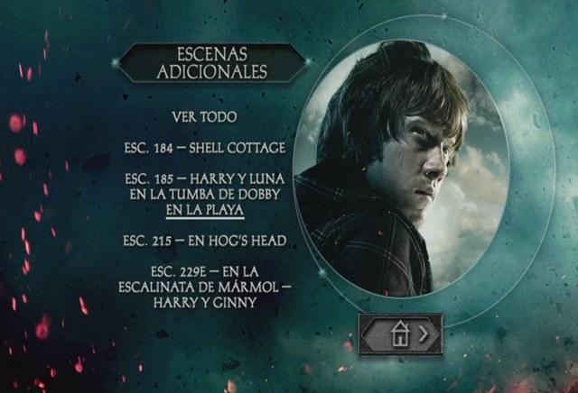 Harry Potter y las Reliquias de la Muerte Parte 2 DVD Full