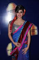 hot, Meera, Chopra, Cute, Saree, Pictures, designer, cleavage,