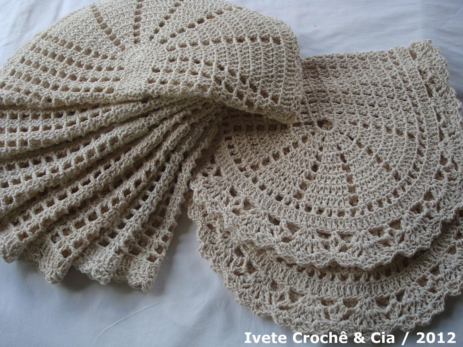 Jogo De Tapete De Cozinha De Croche Tapete De Croche Jogo De  -> Tapete De Croche Oval Simples Passo A Passo