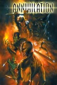 Cover art for Annihilation, Book One