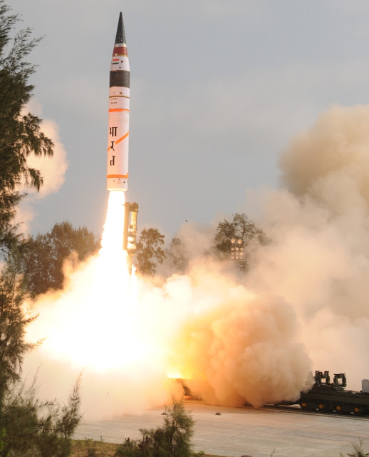 Agni V ICBM