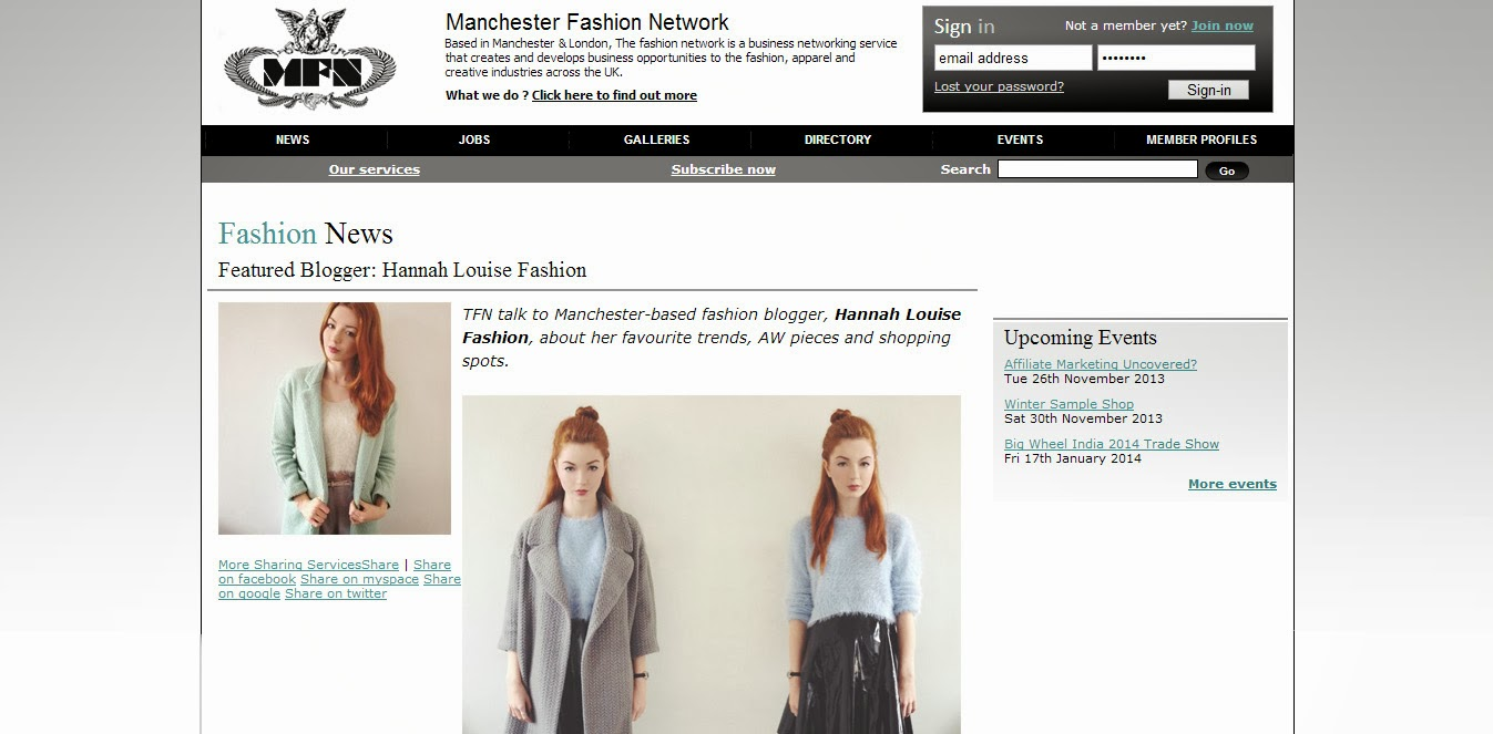 Hannah Louise Fashion A Fashion Style And Beauty Blog Manchester Fashion Network Featured