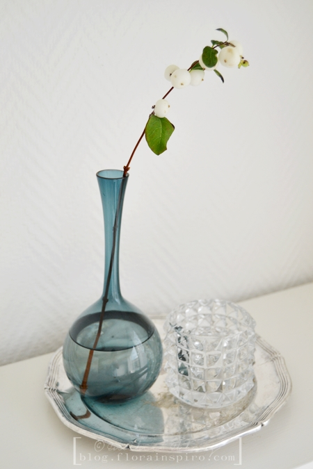candle holder, blue vintage vase, flute vase, silver plate, vintage finds charity shop